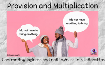 The Simple Math of Provision and Multiplication