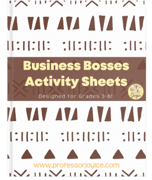 Business Bosses Activity Sheets