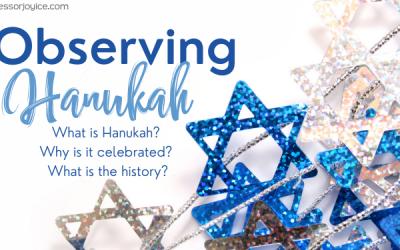 Observing Hanukah
